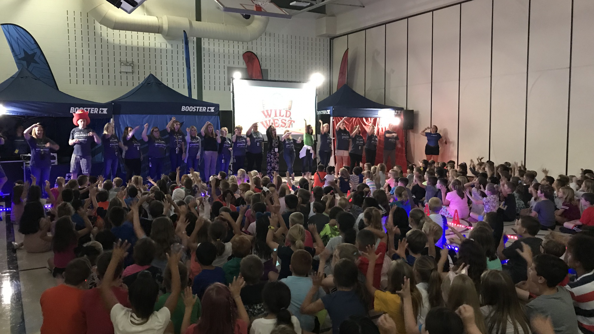 Boosterthon Pep Assembly