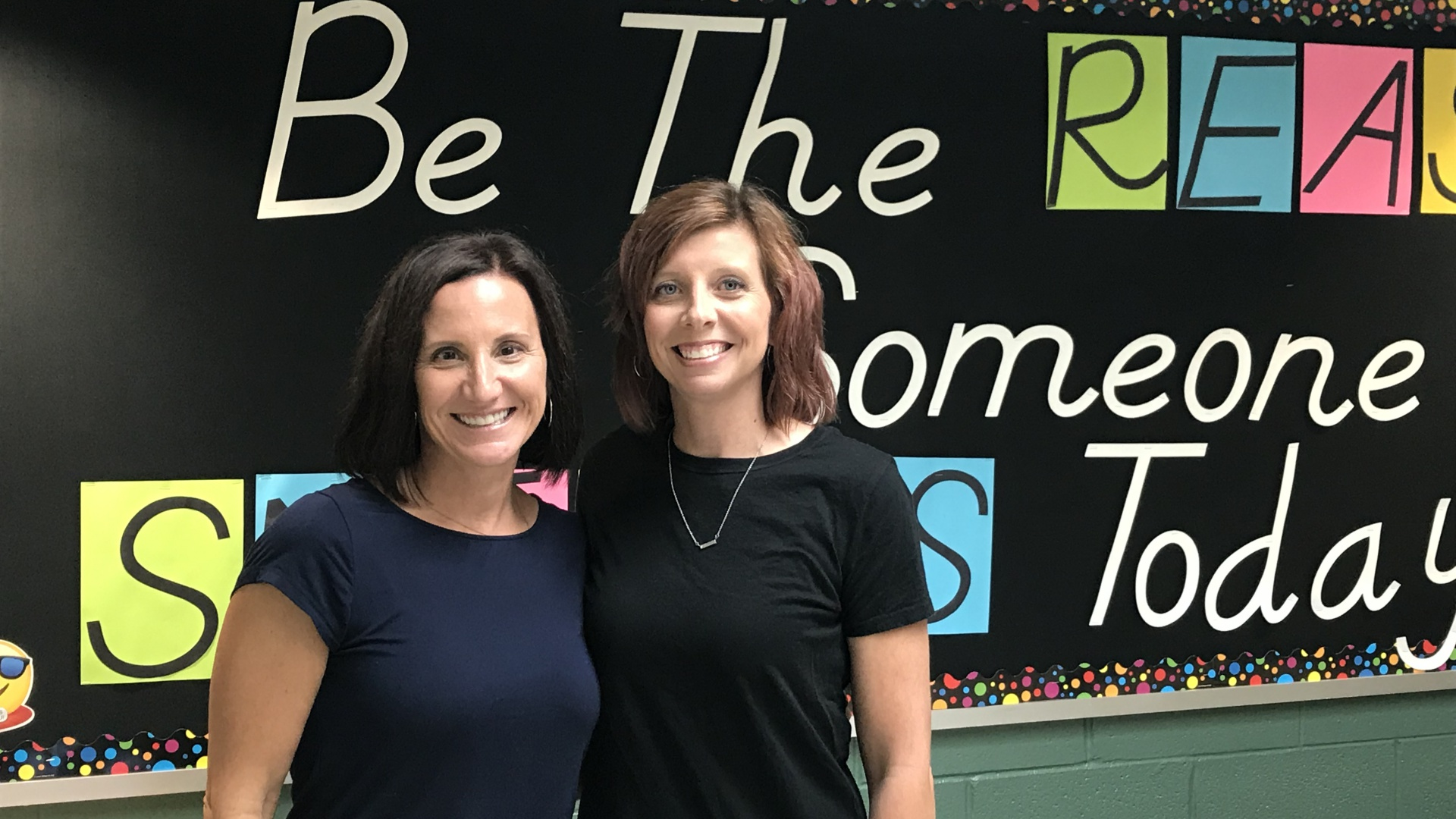 slidshow image - Mrs. Wrobel and Mrs. Edmondson, CE Social Workers -